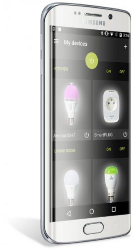 Smartlight mesh c9 led connected light bulb awox - Awox smart control ...