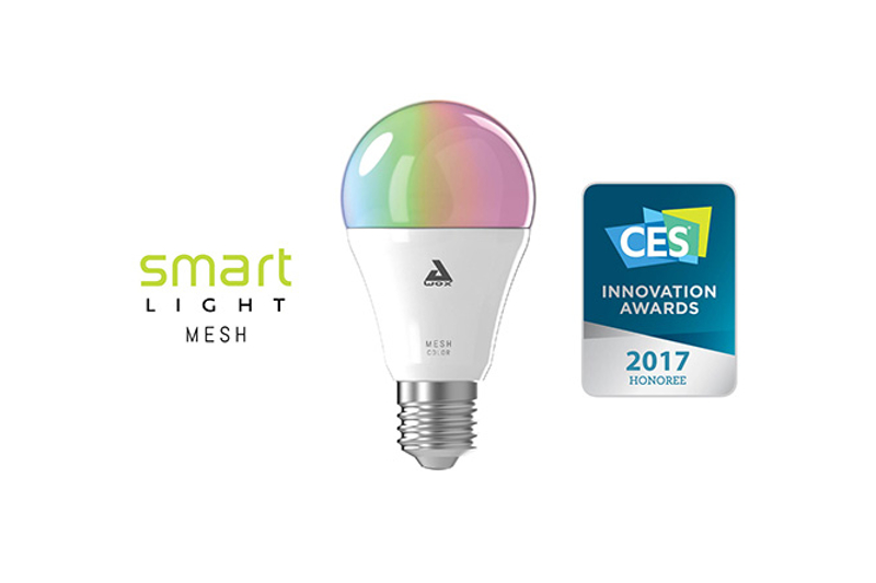 Awox lights up ces las vegas 2017 with its connected lightbulbs awox - Awox smart control ...