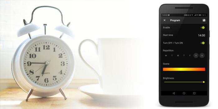 AwoX SmartCONTROL app Program