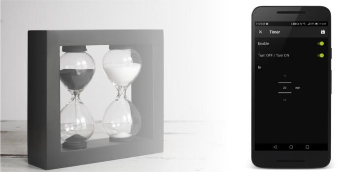 AwoX SmartCONTROL app Timer